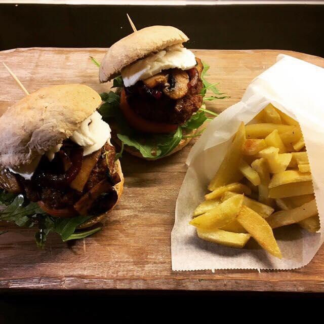 Glutenfrie mini-burgere