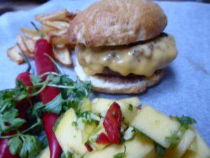 Hjemmelagde glutenfrie burgere