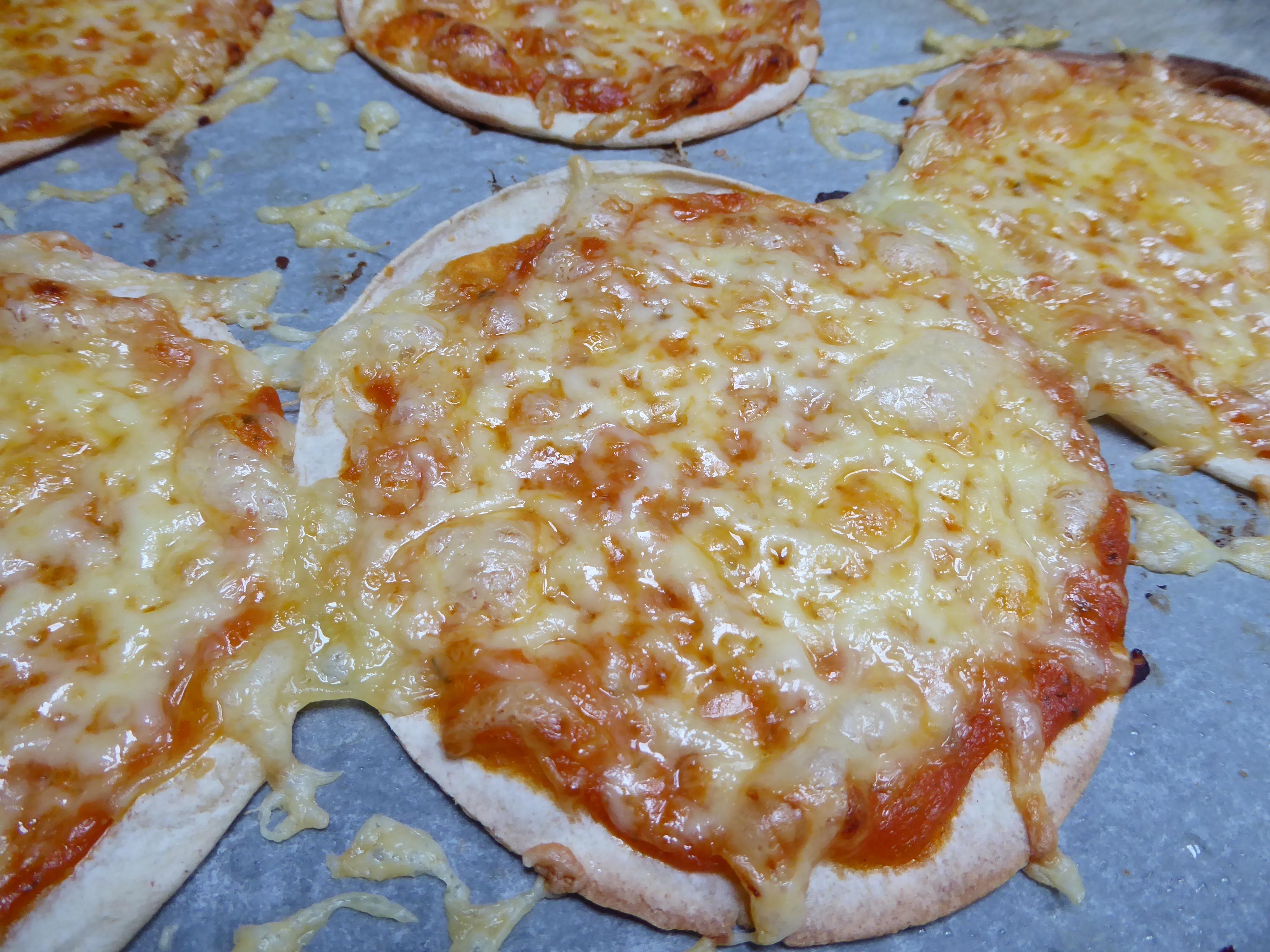 glutenfrie mini-pizza