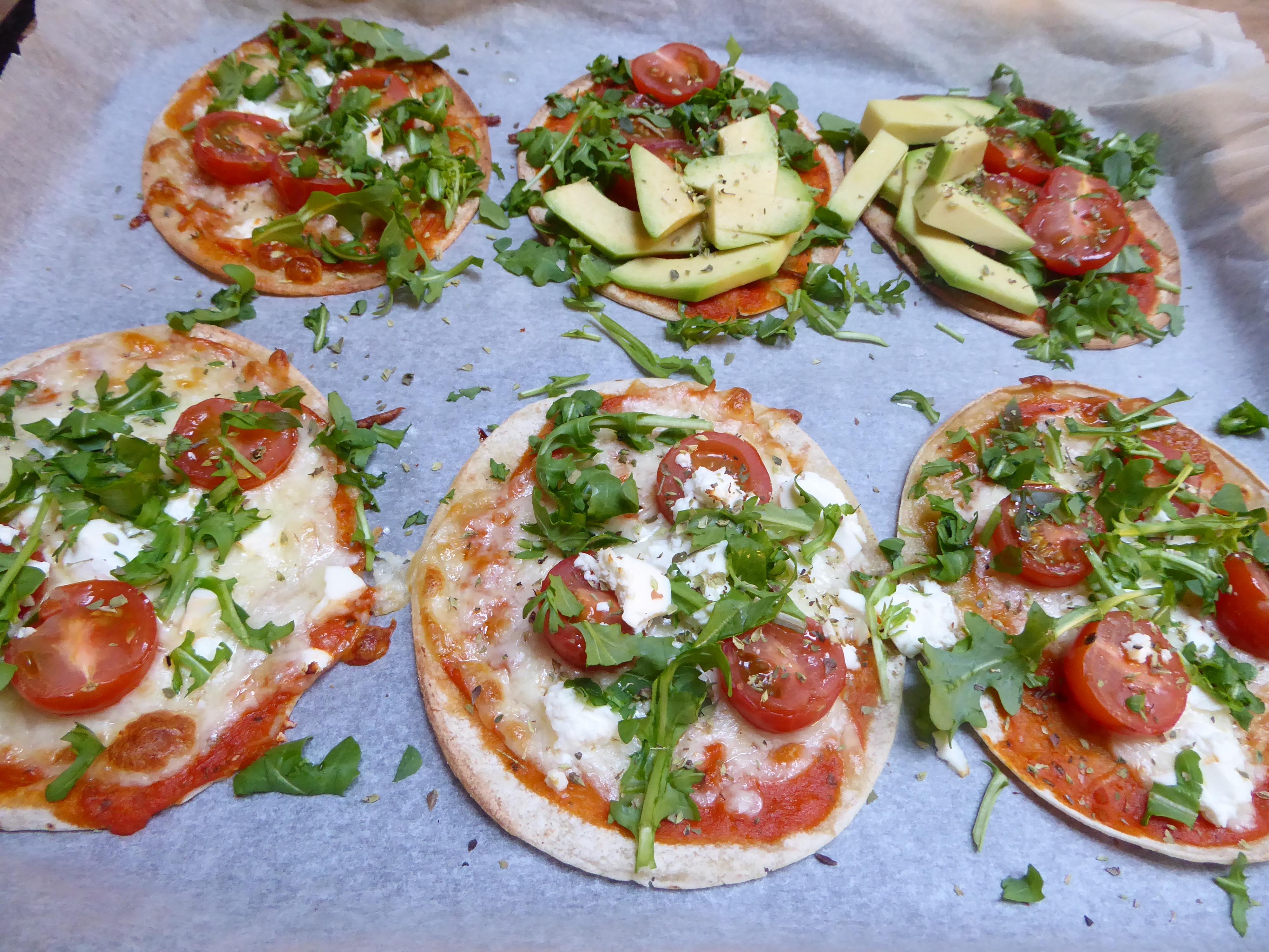 glutenfri mini-pizza