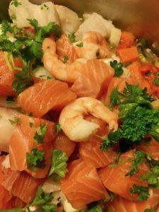 Nydelig kremet fiskesuppe