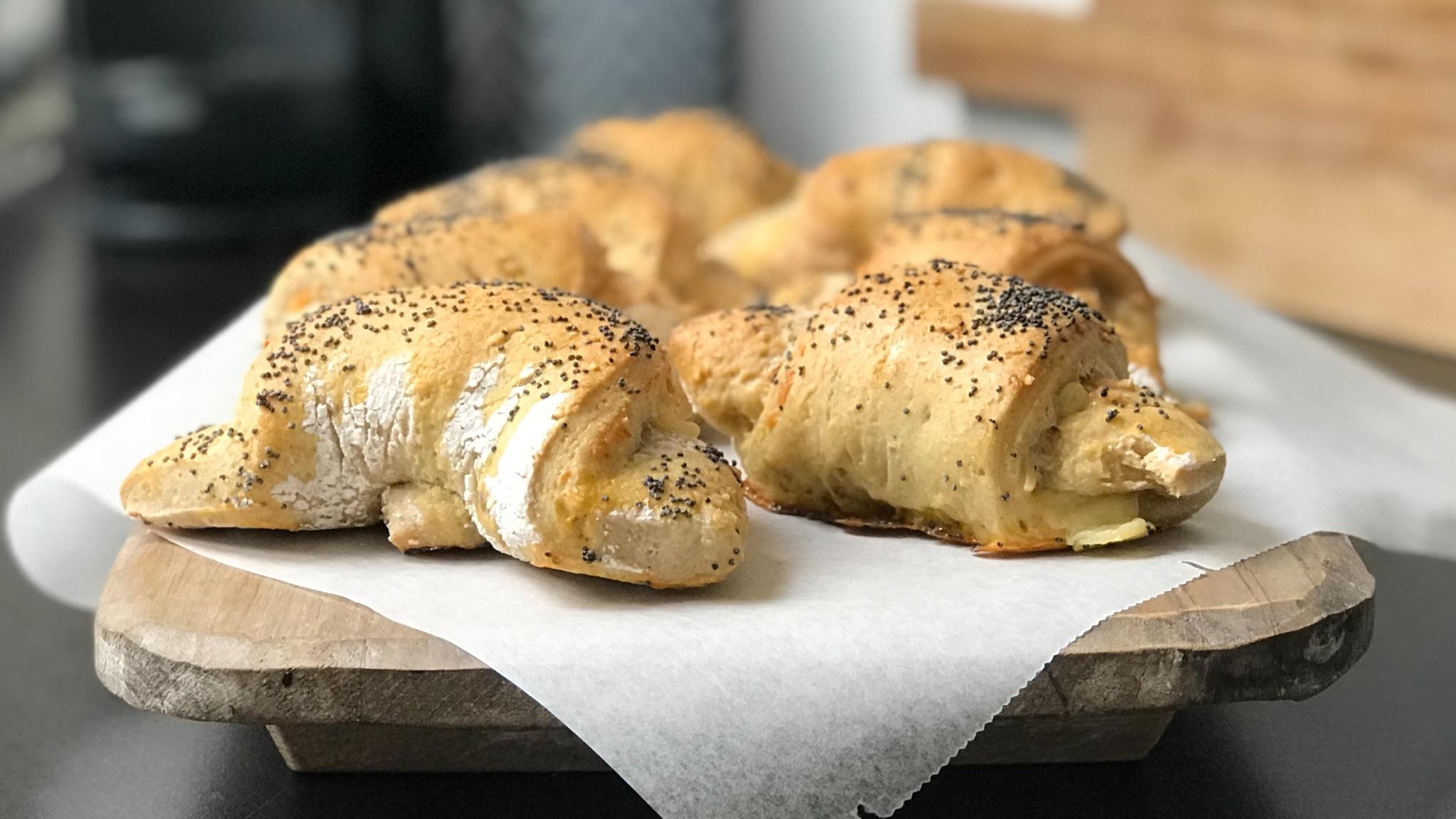 Glutenfrie ostehorn