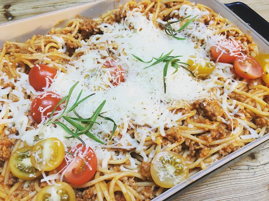 Dagens middagstips; glutenfri pasta med kjøttsaus