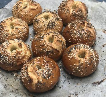 Glutenfrie bagels