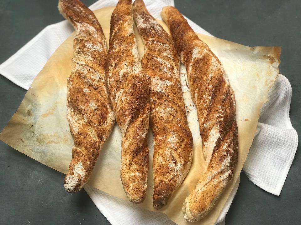 Glutenfri fransk baguette