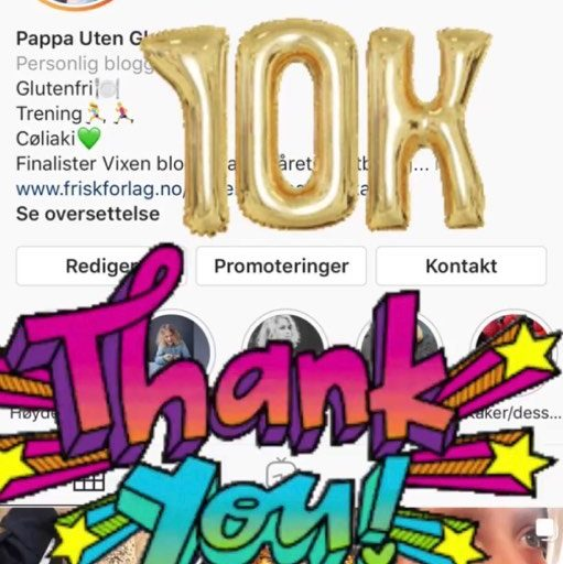 10 000 følgere!