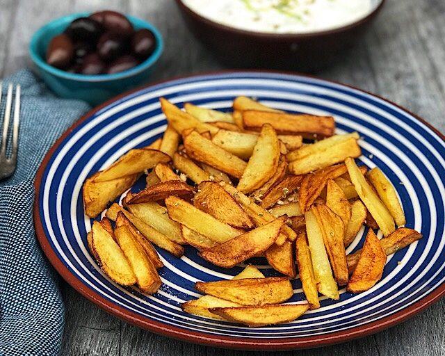 Sprøstekte poteter