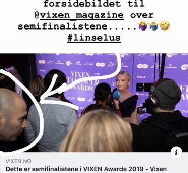 Semifinalister i årets Vixen Influencer Awards!!